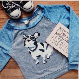 Paper Crane Bulldog Sweatshirt